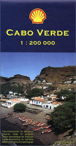 9783934262027: Cape Verde (Cabo Verde) Islands: Tourist Map and Guide