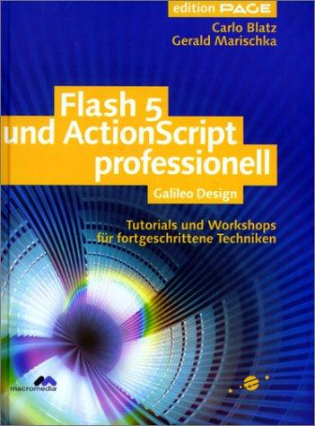 9783934358805: Flash 5 und ActionScript professionell: Tutorials und Workshops für fortgeschrittene Techniken (Galileo Design)