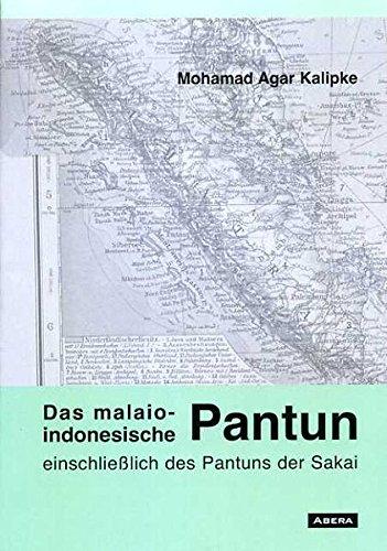 9783934376359: Das malaio-indonesische Pantun (Livre en allemand)