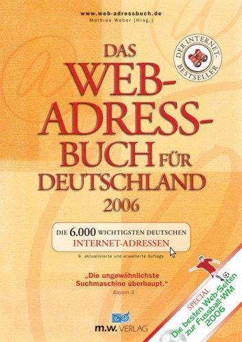 9783934517066: Das Web-Adressbuch für Deutschland 2006