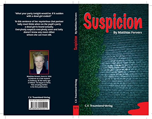 9783934555211: Suspicion: Verdacht. When the Party begin... and the day end with dead...