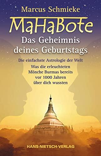 9783934647596: MaHaBote - Das Geheimnis deines Geburtstags