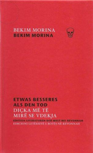 9783934818637: Etwas besseres als den Tod /Diçka më të mirë se vdekja (Livre en allemand)