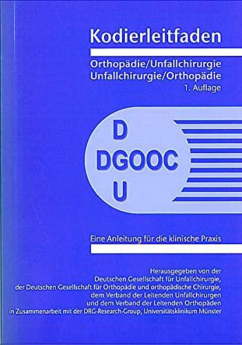 Kodierleitfaden Orthopädie / Unfallchirurgie: NA