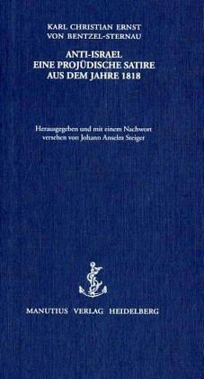 ANTI-ISRAEL: Karl Christian Ernst von Bentzel-Sternau