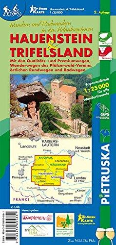 9783934895881: Hauenstein & Trifelsland 1 : 25 000: Wandern und Radwandern in den Urlaubsregionen