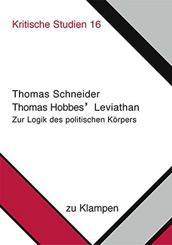 9783934920330: Thomas Hobbes' Leviathan.