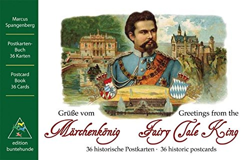 9783934941694: Gr��e vom M�rchenk�nig / Greetings from the Fairy Tale King: 36 historische Postkarten / 36 historic postcards