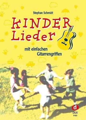 9783934958081: Kinderlieder mit einfachen Gitarrengriffen