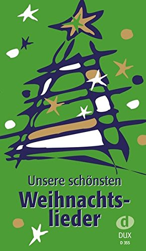 9783934958098: Unsere sch�nsten Weihnachtslieder: Liederbuch im Pocket-Format