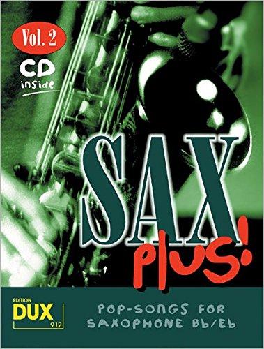9783934958203: Sax plus, m. Audio-CD. Vol.2