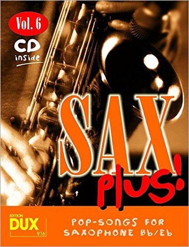 9783934958609: Sax Plus!, m. Audio-CD. Vol.6