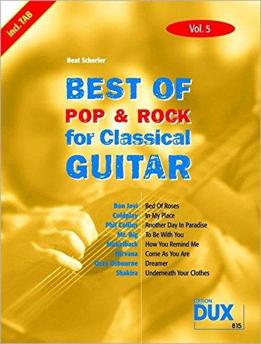 Best of Pop & Rock for Classical Guitar. Vol.5: Beat Scherler