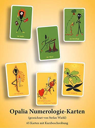 9783934982086: Opalia Numerologie-Karten