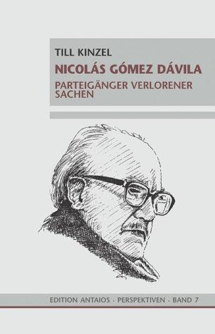 9783935063074: Nicolas Gomez Davila.