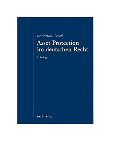 9783935079693: Asset Protection im deutschen Recht