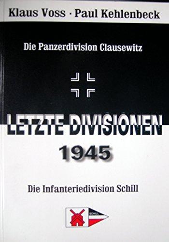 9783935095051: Letzte Divisionen 1945