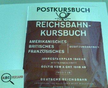 Postkursbuch für das amerikanische, britische und französische: Post- und Fernmeldetechnisches