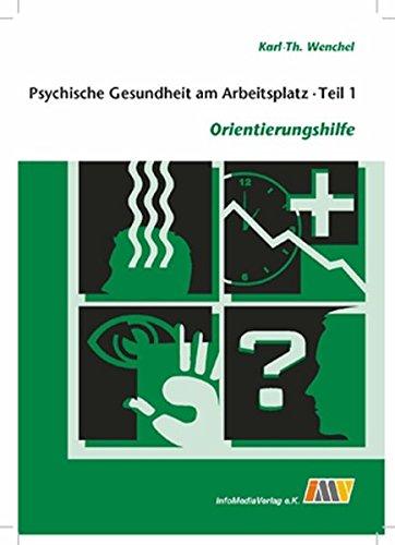 9783935116565: Psychische Gesundheit am Arbeitsplatz - Teil 1