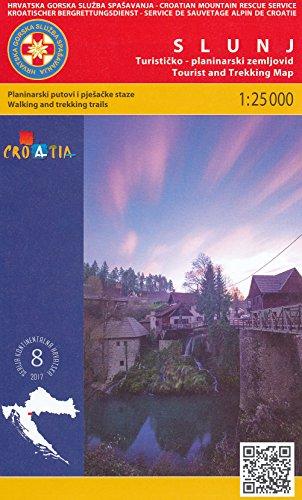 9783935130158: Korana River - Slunj (Croatia) 1:25,000 Hiking Map