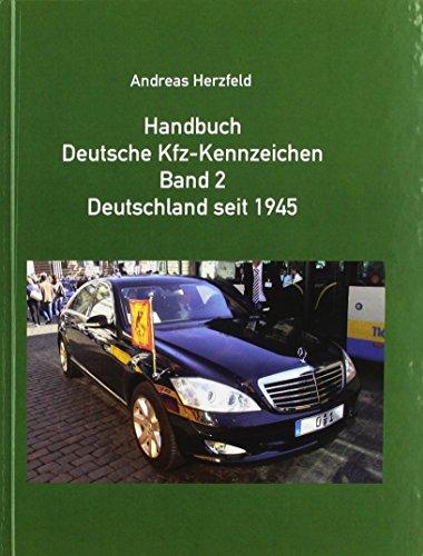 9783935131148: Handbuch Deutsche Kfz-Kennzeichen Band 2 Deutschland ...