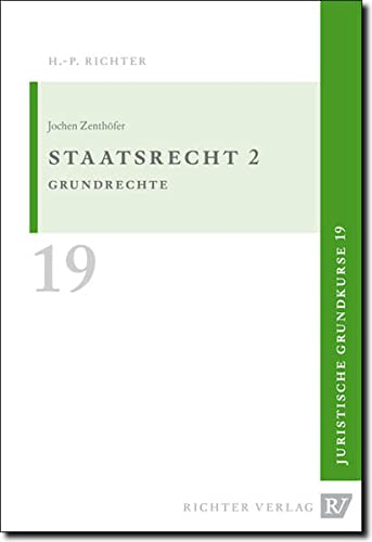 Zenthöfer, J: Staatsrecht 2: Jochen Zenthöfer