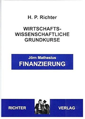 Finanzierung: Mathesius, J�rn