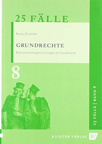 9783935150781: Rauda, C: 25 Fälle - Band 8 - Grundrechte
