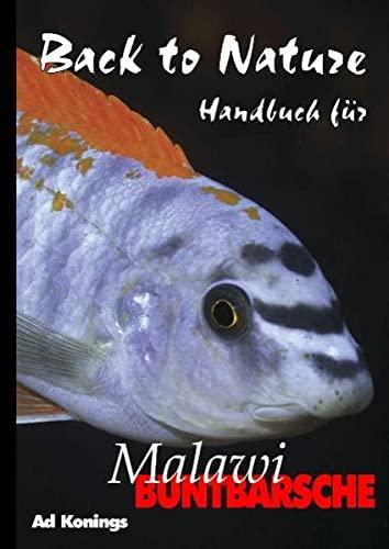 Malawibuntbarsche (9783935175180) by Ad Konings