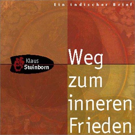 9783935178013: Weg zum inneren Frieden. Brief zur Meditation. (Livre en allemand)