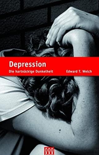 Ein Mädchen mit Depressionen datiert
