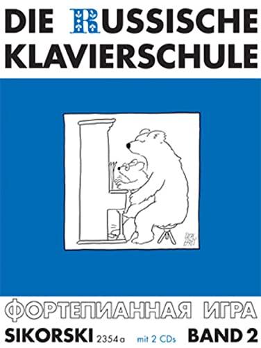 Die Russische Klavierschule 2. Mit 2 CD's: Alexander Nikolajew
