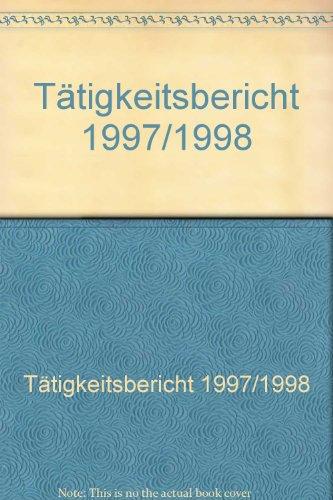 Tätigkeitsbericht 1997/1998