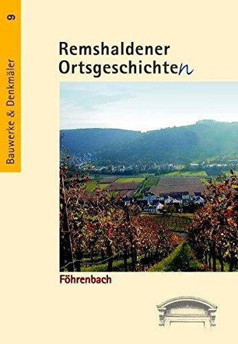 9783935383813: Föhrenbach: Eine Dokumentation der abgegangenen Siedlung Föhrenbach bei Geradstetten