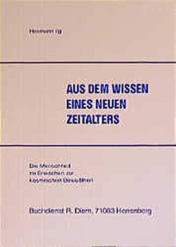 9783935422529: Das Wissen eines neuen Zeitalters.