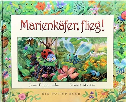 Marienkäfer, flieg! Ein Pop-Up-Buch lies+spiel das etwas: Jane Edgecombe, Stuart
