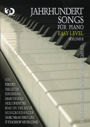 9783935478236: Jahrhundertsongs Easy Level 2