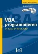 9783935539098: VBA programmieren in Excel und Word 2003