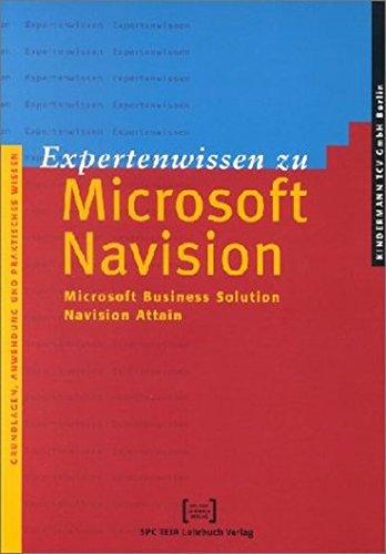 9783935539227: Expertenwissen zu Navision Attain.