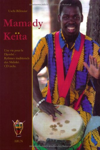 9783935581516: Mamady Keita, französische Ausgabe, m. Audio-CD