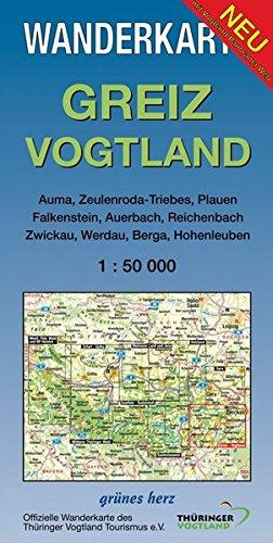 9783935621052: Greiz - Vogtland 1 : 50 000 Wanderkarte