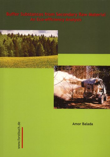 Buffer Substances From Secondary Raw Material: An Eco-efficiency Analysis: Amor Balada