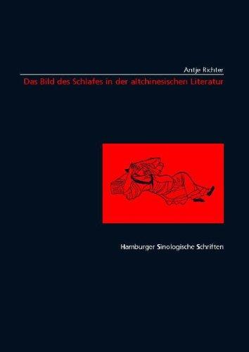 9783935664035: Das Bild des Schlafes in der altchinesischen Literatur (Livre en allemand)