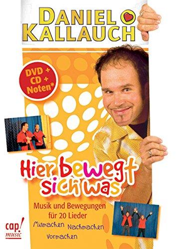 9783935699730: Hier bewegt sich was (DVD/CD-Paket): Musik und Bewegungen für 20 Lieder