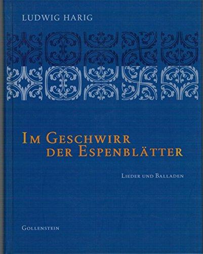 9783935731317: Im Geschwirr der Espenblätter: Lieder und Balladen
