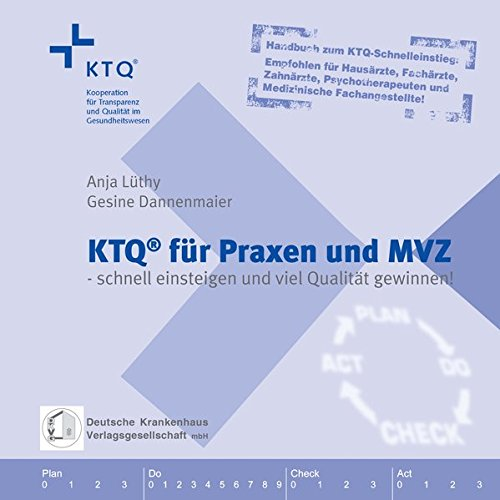 9783935762922: KTQ f�r Praxen und MVZ. Handbuch zum KTQ-Schnelleinstieg