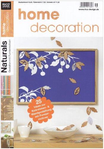 home decoration Naturals: 25 Ideen zur Keilrahmen- und Wandgestaltung mit Furniermotiven: Koch, ...