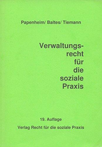 9783935793049: Verwaltungsrecht für die soziale Praxis (Livre en allemand)