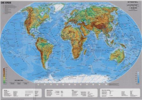 9783935794350: DUO Die Welt physisch /politisch: Tisch-Set