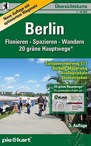 9783935863216: Berlin 1 : 50 000 Übersichtskarte Flanieren - Spazieren - Wandern